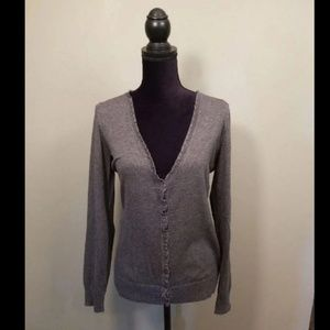 Maurices Gray Cardigan